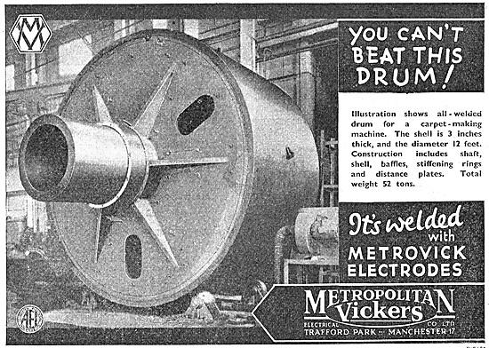 Metrovick Welding Electrodes