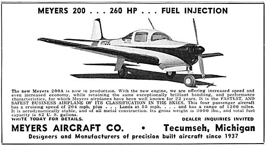 Meyers 200A  Aircraft