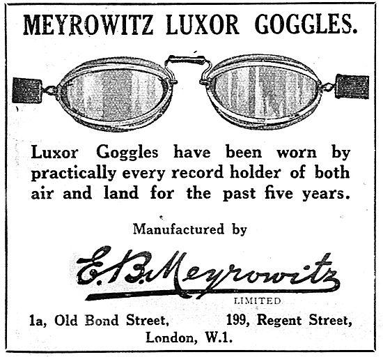 Meyrowitz Luxor Flying Googles