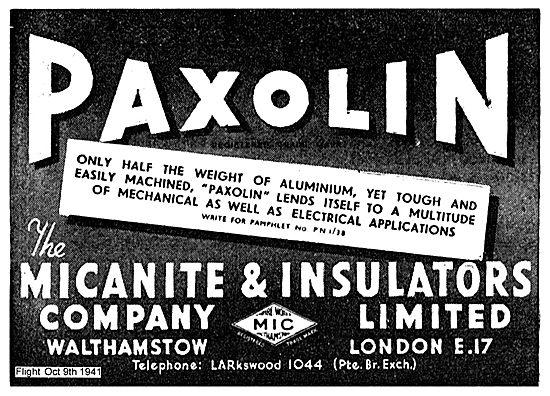 Micanite Paxolin Insulators