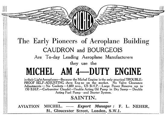 Aviation Michel - Michel AM 4 Aircraft Engine