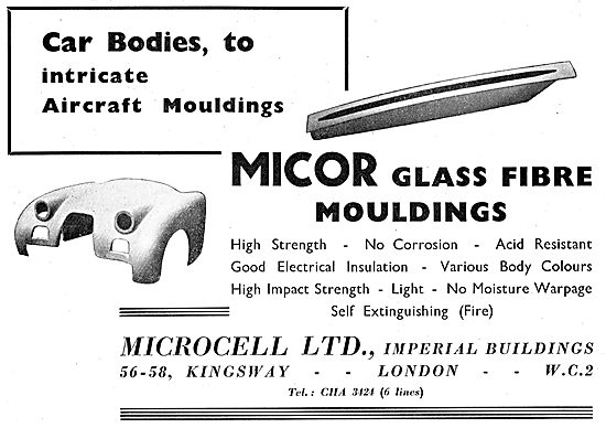 Microcell MICOR Glass Fibre Mouldings