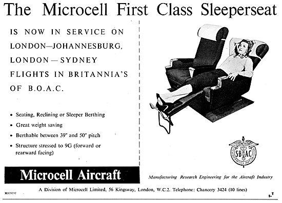 Microcell Aircraft Passenger Seats
