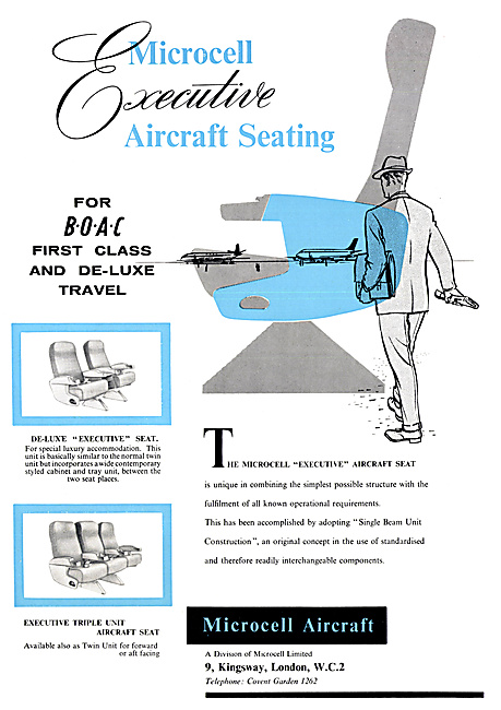 Microcell Aircraft Seating