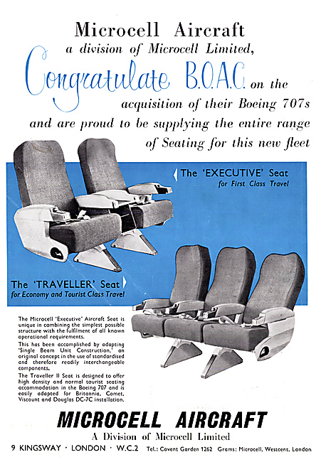 Microcell Aircraft Seats