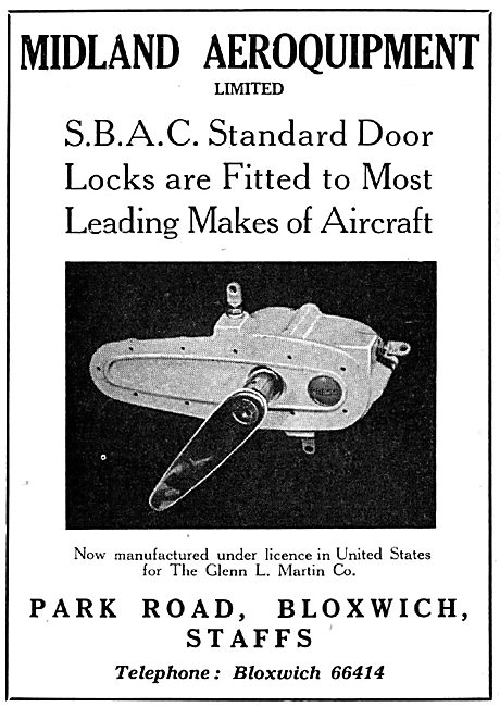 Midland Aeroquipment Latches & Locks