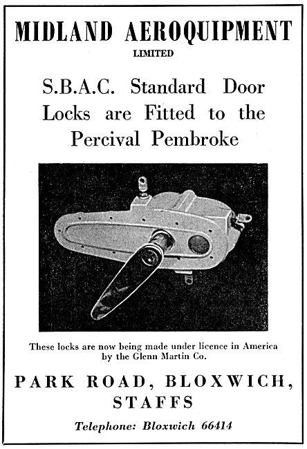 Midland Aeroquipment Door Locks