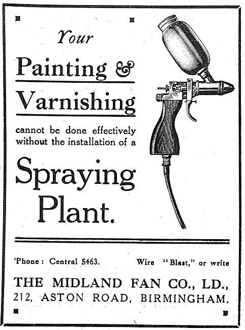 Midland Fan Painting & Varnishing Spraying Plant