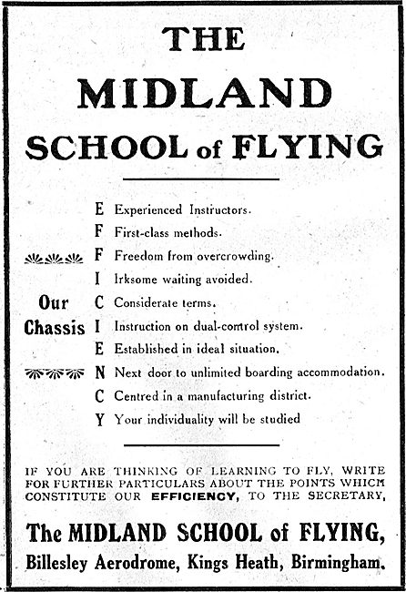The Midland School Of Flying. Reasons To Choose Us.