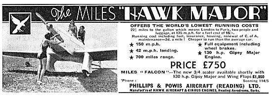 Miles Hawk Major - Phillips & Powis