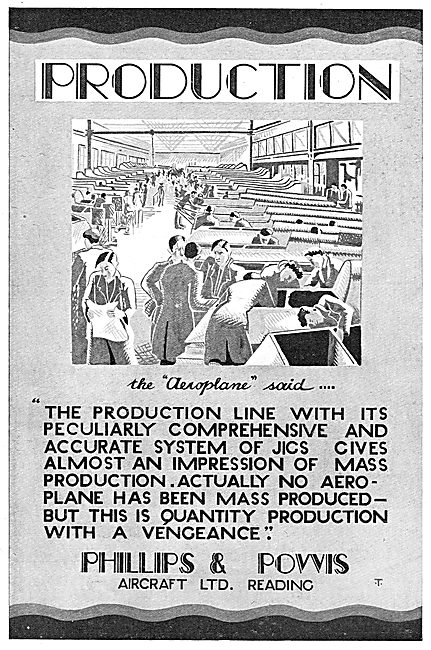 Phillips & Powis Aircraft Production