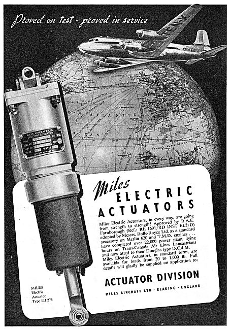 Miles Electric Actuators