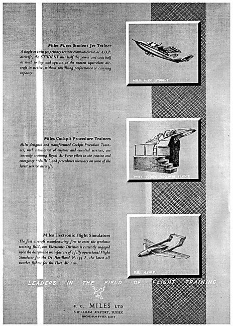 F.G.Miles - Miles Student - Miles Flight Simulators
