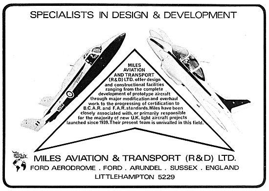 Miles Aviation & Transport - Ford Aerodrome - Miles Student