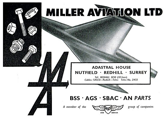 Miller Aviation - Aircraft Parts Suppliers