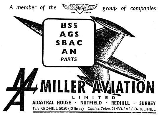 Miller Aviation - Redhill Surrey