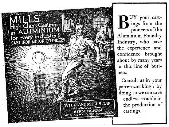 William Mills Aluminium Alloy Castings