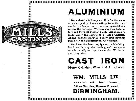 William Mills Aluminium Alloy  & Iron Castings