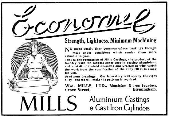 William Mills. Aluminium & Iron Castings