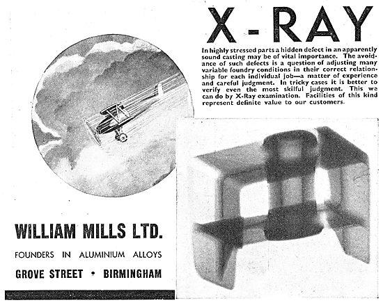 William Mills Aluminium Founders - X Ray Inspection Machinery