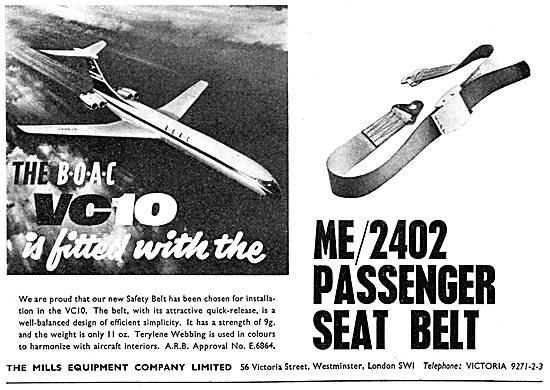 Mills Equipment - ME / 2402 Passenger Safety Belt