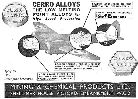 Mining And Chemical : Cerro Fusible Alloys For Tube Bending