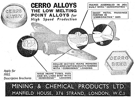 Mining & Chemical Products - Cerro Alloys