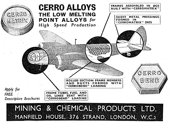 Mining And Chemical - Cerro Alloys