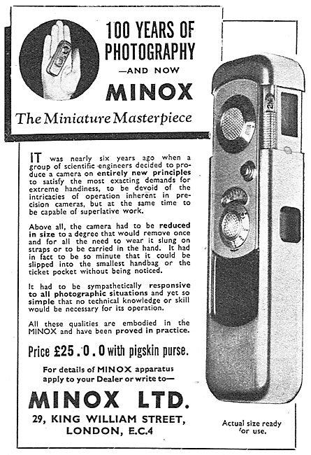 Minox Miniature Camera
