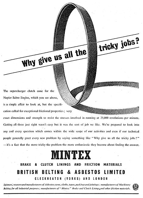 Mintex Brake & Clutch Linings