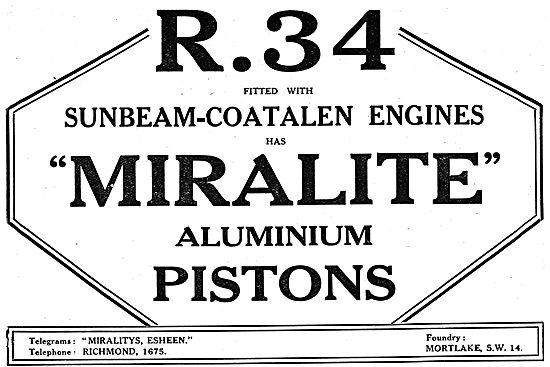 Miralite Aluminium Pistons
