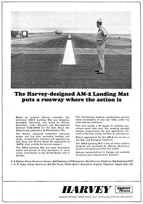 Harvey Aluminium AM-2 Runway Landing Mats 1965