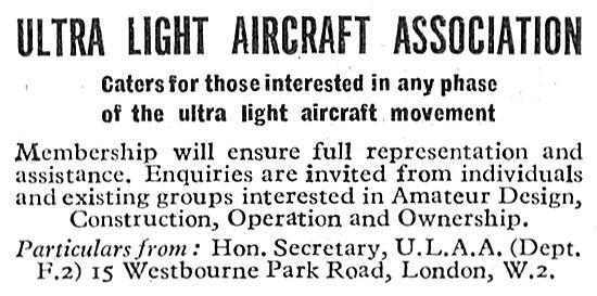 Ultra Light Aircraft Association 1947