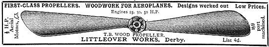 T.B.Wood Propeller - Littleover Works Derby