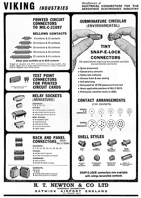 H.T.Newton Electrical & Electronic Connectors