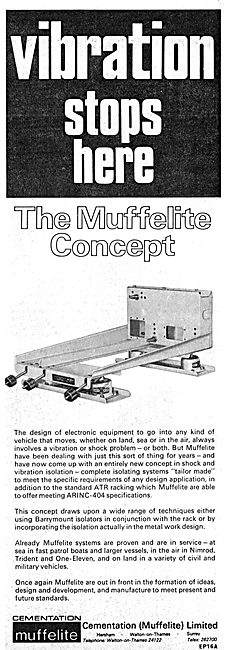 Muffelite Anti-Vibration Mountings