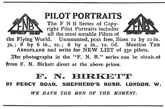 F.N.Birkett Pilot Portraits