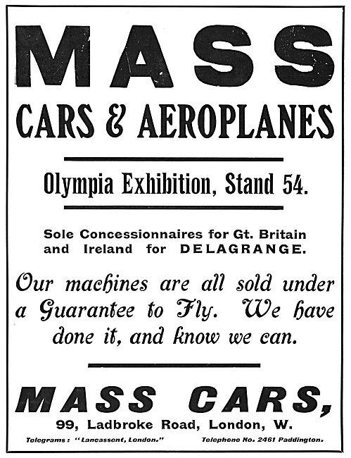 MASS Cars. Delagrange