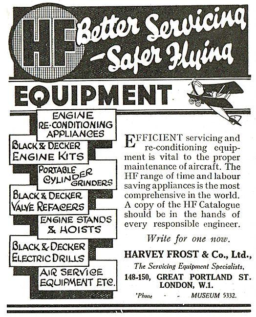 Harvey Frost & Co - Better Servicing - Safer Flying