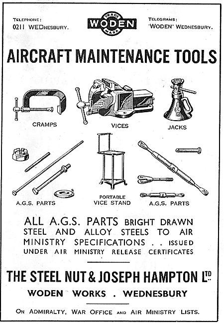 The Steel Nut & Joseph Hampton - Aircraft Maintenance Tools