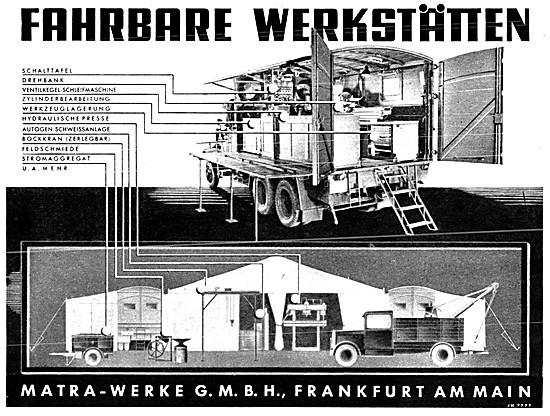 Fahrbare Werkstaten - Mobile Workshop 1941