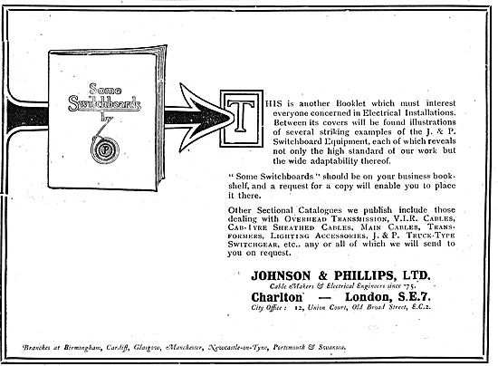 Johnson & Phillips Power Transmission & Electrical Installations