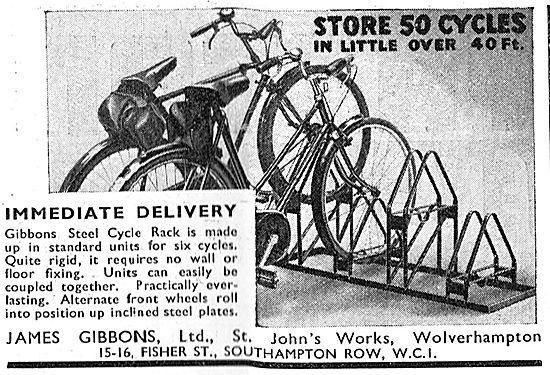 James Gibbons. Steel Cycle Racks
