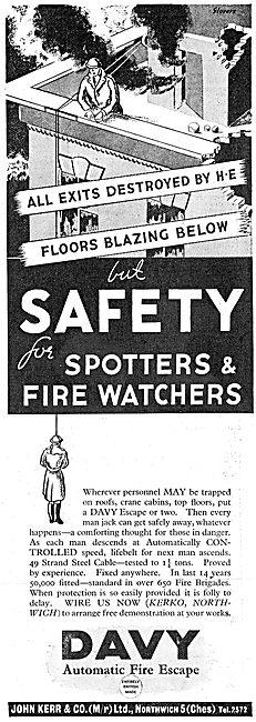 John Kerr & Co - Automatic Fire Escape For Factory Personnel