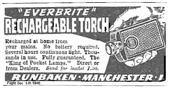 Runbaken Everbrite Rechargeable Torch