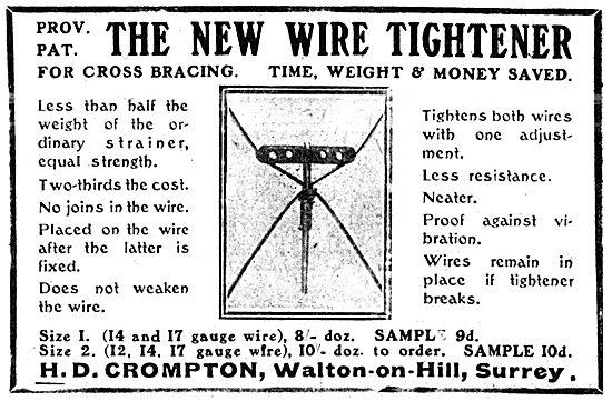 H.D.Crompton. Walton-on-Hill. Wire Tightener