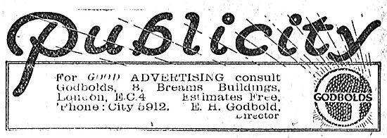 Publicity? Call E.H.Godbolds Advertising Agency
