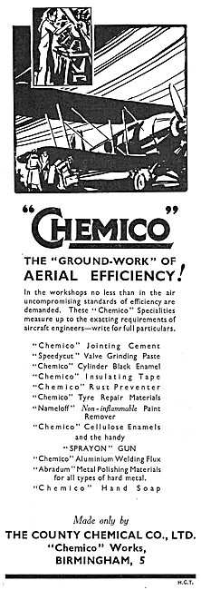 The County Chemical Co: Chemico Rust Preventer & Joint Compounds