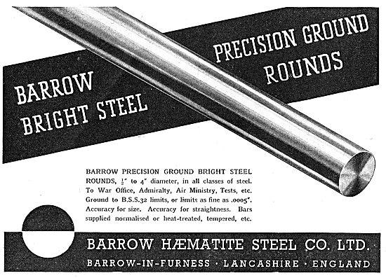 Barrow Haematite Steel Co. Barrow-In-Furness.