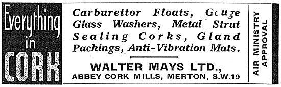 Walter Mays Ltd. Abbey Cork Mills. Merton. Cork Components